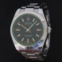 Rolex Milgauss GV 116400GV Black Dial