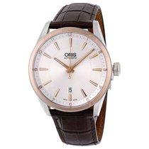 Oris Steel 42mm Automatic 733 7642 6331-07 5 21 80FC new