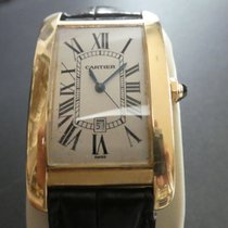 Cartier Tank Américaine Yellow gold 26mm Silver United Kingdom, Newbury