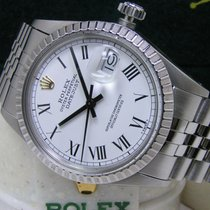 288e5438ef200 Rolex 16030 Steel 1987 Datejust 36mm pre-owned