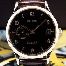 Zenith pre-owned Automatic 37mm Black Sapphire Glass 3 ATM