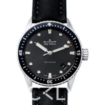 Blancpain Fifty Fathoms Bathyscaphe 5000-1110-B52A новые