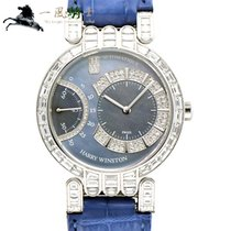 Harry Winston White gold 37mm Automatic 200/MASR37W pre-owned
