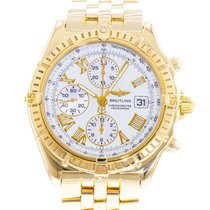 Breitling Crosswind Racing Yellow gold 43mm White United States of America, Georgia, Atlanta