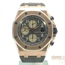 Audemars Piguet Royal Oak Offshore Chronograph Red gold 42mm Grey No numerals
