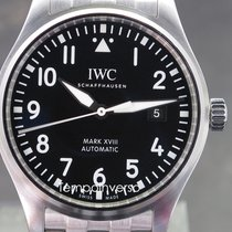 IWC Pilot Mark Steel 40mm Black Arabic numerals United Kingdom, London, Paris, Brussels & Barcelona face to face delivery only - Other countries shipping with Brinks & DHL Express