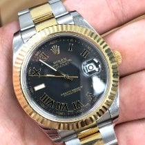 Rolex Datejust II Steel 41mm Black Roman numerals United States of America, New York, forest hills