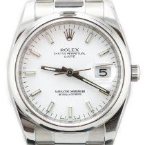 Rolex Oyster Perpetual Date Steel 34mm White No numerals United Kingdom, London