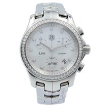 TAG Heuer Link Lady pre-owned 33mm Mother of pearl Steel