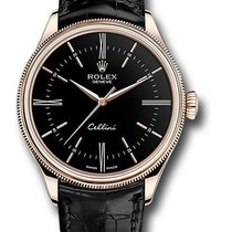 Rolex Cellini Time Rose gold 39mm Black No numerals United States of America, New York, NEW YORK