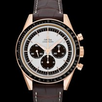 Omega Rose gold Manual winding Silver 39.7mm new Speedmaster Professional Moonwatch