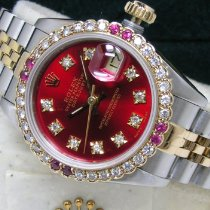 Rolex Lady-Datejust Gold/Steel 26mm Red No numerals United States of America, Pennsylvania, HARRISBURG