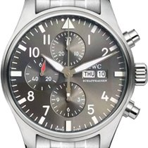 IWC IW377719 Steel 2019 Pilot Spitfire Chronograph 43mm new United States of America, New York, New York