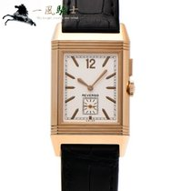 Jaeger-LeCoultre Grande Reverso Ultra Thin Duoface Rose gold 46.5mm Silver
