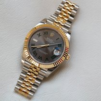 Rolex Datejust 41 Silver Dial Jubilee Steel and Gold Watch