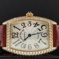 Franck Muller Curvex Ladies Ref.1752QZ D 18k Rose Gold Factory...