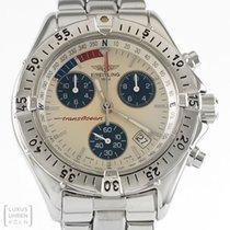 Breitling Breilting Uhr Transocean Edelstahl Ref. A53040
