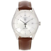 TAG Heuer Carrera WV211A.FC6181 - Gent Watch - Leather Strap...