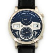 A. Lange & Söhne White Gold Zeitwerk Striking Time Watch...