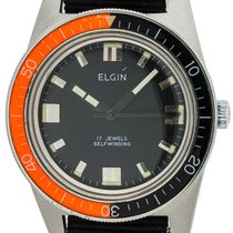 Elgin Steel 35mm Automatic 4156 pre-owned
