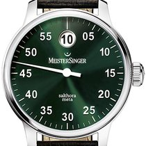 Meistersinger Salthora Meta Steel 43mm Green Australia, Noosa