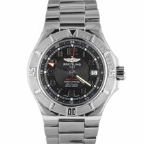 Breitling Colt GMT+ pre-owned 42mm Steel