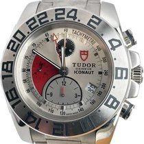 Tudor Iconaut pre-owned 43mm Silver Chronograph Date Tachymeter Steel
