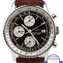 Breitling Old Navitimer Chronograph Black 42mm Automatic 81610...