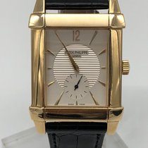Patek Philippe Gondolo 18K gold box and paper