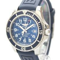 Breitling Superocean II 42 Steel 42mm Blue Arabic numerals