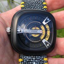 Sevenfriday M2-1 with Custom Stingray Band and PVD Buckle