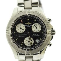 Breitling Colt Chronograph pre-owned 38mm Black Chronograph Date Steel