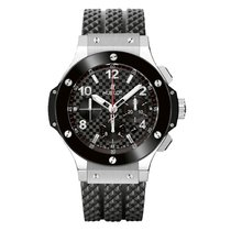 Hublot Big Bang 41 mm Acero 41mm Negro Árabes