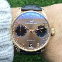 IWC Rose gold 42mm Automatic IW500124 pre-owned