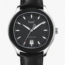 Piaget Polo S Steel 42,00mm Black No numerals