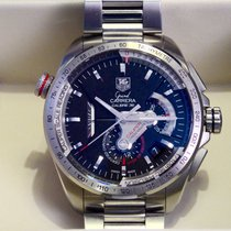 TAG Heuer Acier Chronographe Remontage automatique 43mm 2012 Grand Carrera