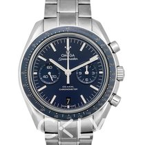 Omega Titane Remontage automatique Bleu 44.25mm nouveau Speedmaster Professional Moonwatch