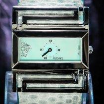 Versace 41mm Quarz gebraucht Blau