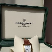 Frederique Constant Geelgoud Quartz 1582915 tweedehands