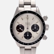 Rolex Daytona 6263 BIG EYES 1975 Very good Steel 37mm Manual winding