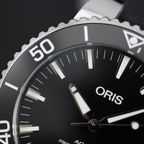 Oris Aquis Date Steel 43,50mm Black No numerals