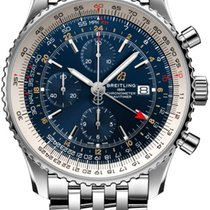 Breitling Navitimer GMT new 2019 Automatic Chronograph Watch with original box and original papers A24322121C2A1