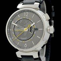 Louis Vuitton Stahl 44mm Automatik Q10550 gebraucht