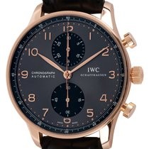 IWC Portuguese Chronograph Rose gold 41mm Grey Arabic numerals United States of America, Texas, Austin