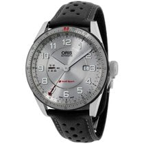 Oris Audi Sport Steel 44mm Silver Arabic numerals United States of America, New York, Brooklyn