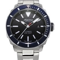 Alpina Seastrong Steel 44mm Black United States of America, Massachusetts, Florence