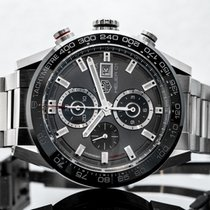 TAG Heuer Carrera Calibre HEUER 01 Steel 43mm Grey United States of America, New Jersey, Englewood