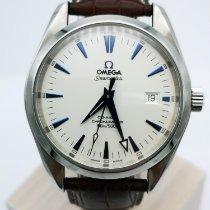 Omega Seamaster Aqua Terra Otel Alb