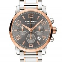 Montblanc Gold/Steel 43mm Automatic 107321 new United States of America, New York, Greenvale