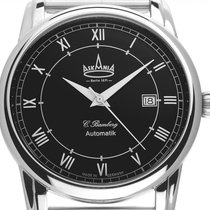 Askania Steel 42mm Automatic ASK-8042-M new